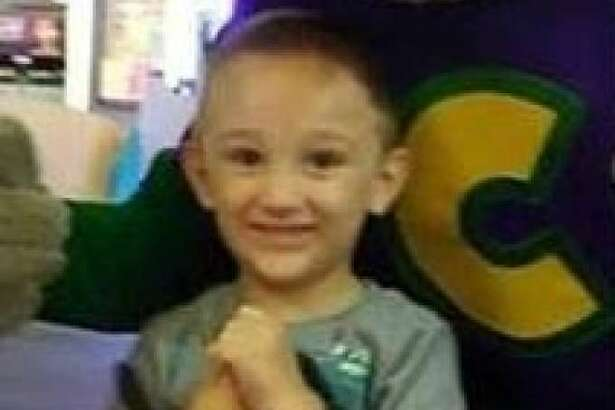 The Midland County Sheriff's Office is searching for missing 4-year-old Caleb He was last seen wearing a lime green Gap shirt, khaki pants and red Jordan shoes