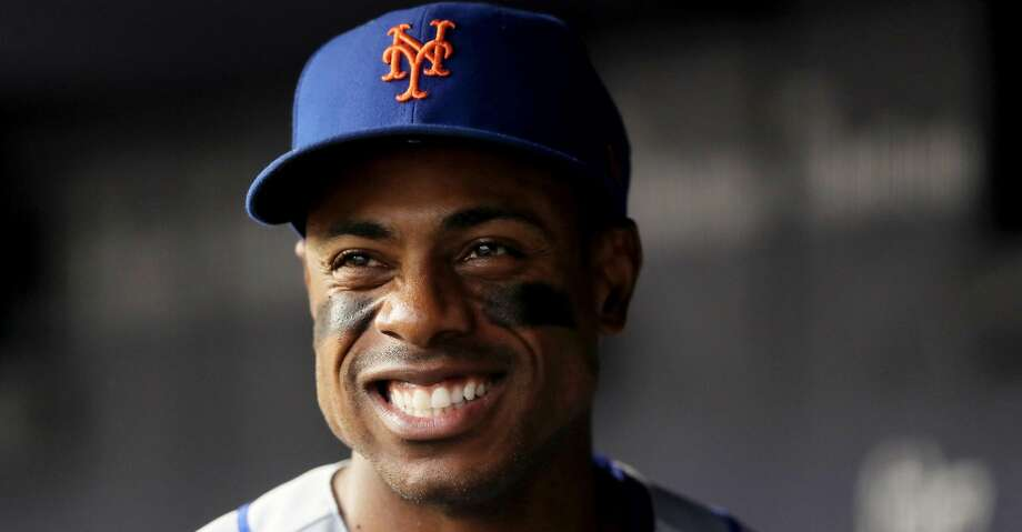 The Los Angeles Dodgers have acquired outfielder Curtis Granderson and cash from the New York Mets for a player to be named later or cash. Photo: Elsa/Getty Images