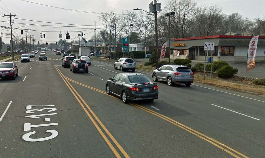 This is the area on High Ridge Road in Stamford where police say 89-year-old Sanh Truong was struck and killed on Thursday, Aug. 17, 2017. Photo: Google Street View