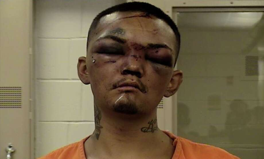 Mugshot reveals what happens when you try to car jack three