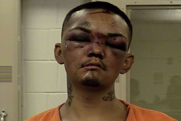 Mugshot reveals what happens when you try to car jack three football