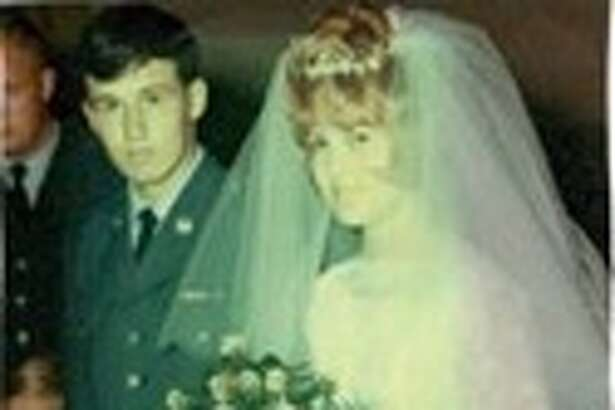 Jim and Shelia Darr on their wedding day.