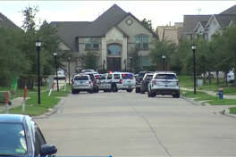 SWAT is on the scene of a man who has apparently barricaded himself inside a Pearland residence with a weapon. Theman got upset around 9:20 a.m. with family members at a home in the 3300 block of Orchard Mill and began firing off rounds, said Onesimo Lopez with the Pearland Police Department.
