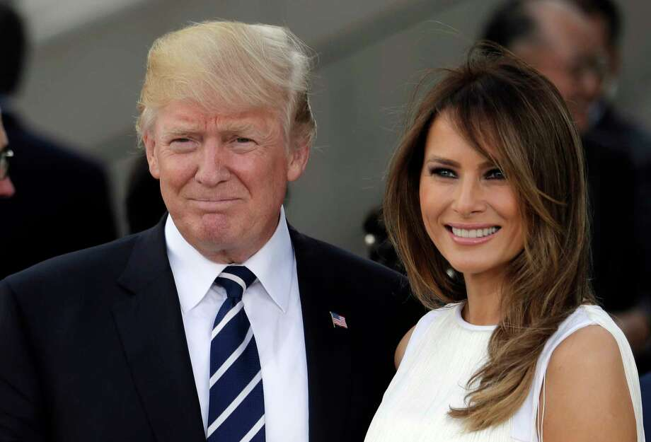 President Donald Trump and first lady Melania Trump said they wanted the honorees to celebrate 'without any political distraction.' Photo: Markus Schreiber, STF / Copyright 2017 The Associated Press. All rights reserved.
