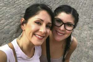 Miranda Vigil (right) witnessed the terrorist attack in Barcelona during a trip last week to Spain, where her mother, Kyndra Vigil (left), was studying dance in Madrid.