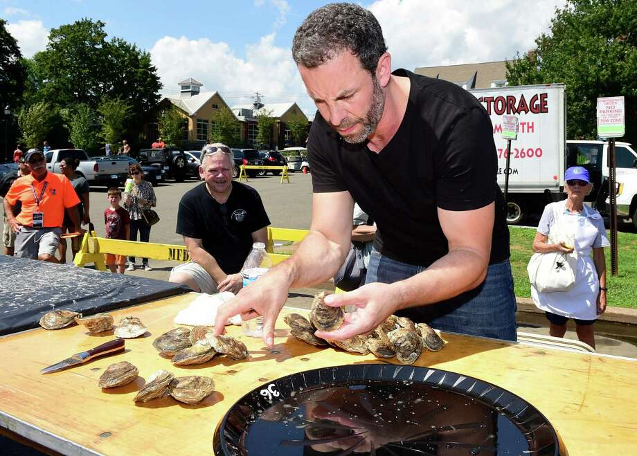 (Peter Hvizdak / Hearst Connecticut Media) Milford, Connecticut: Saturday, August 19, 2017. The Milford Oyster Festival Saturday afternoon in Milford. Photo: Peter Hvizdak, Hearst Connecticut Media / New Haven Register