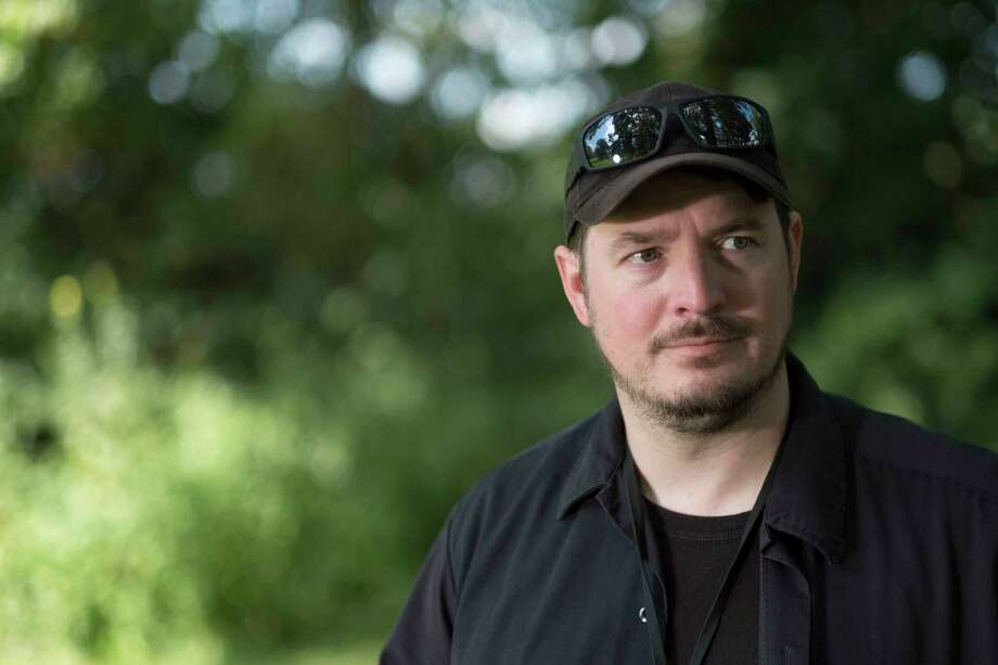 """Matthew Parrott, 35, who calls himself """"the first alt-righter,"""" drove 540 miles from Paoli, Indiana, to Charlottesville, Virginia. """"I need to be more aggressive,"""" he said. Must credit: Photo by AJ Mast for The Washington Post Photo: AJ Mast, For The Washington Post / AJ Mast"""