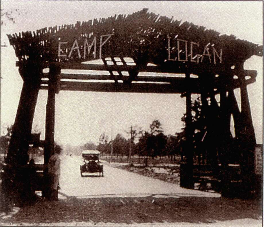 Camp Logan, circa 1917,  was a World War I 