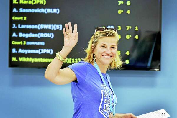 Connecticut Open tournament director Anne Worcester.