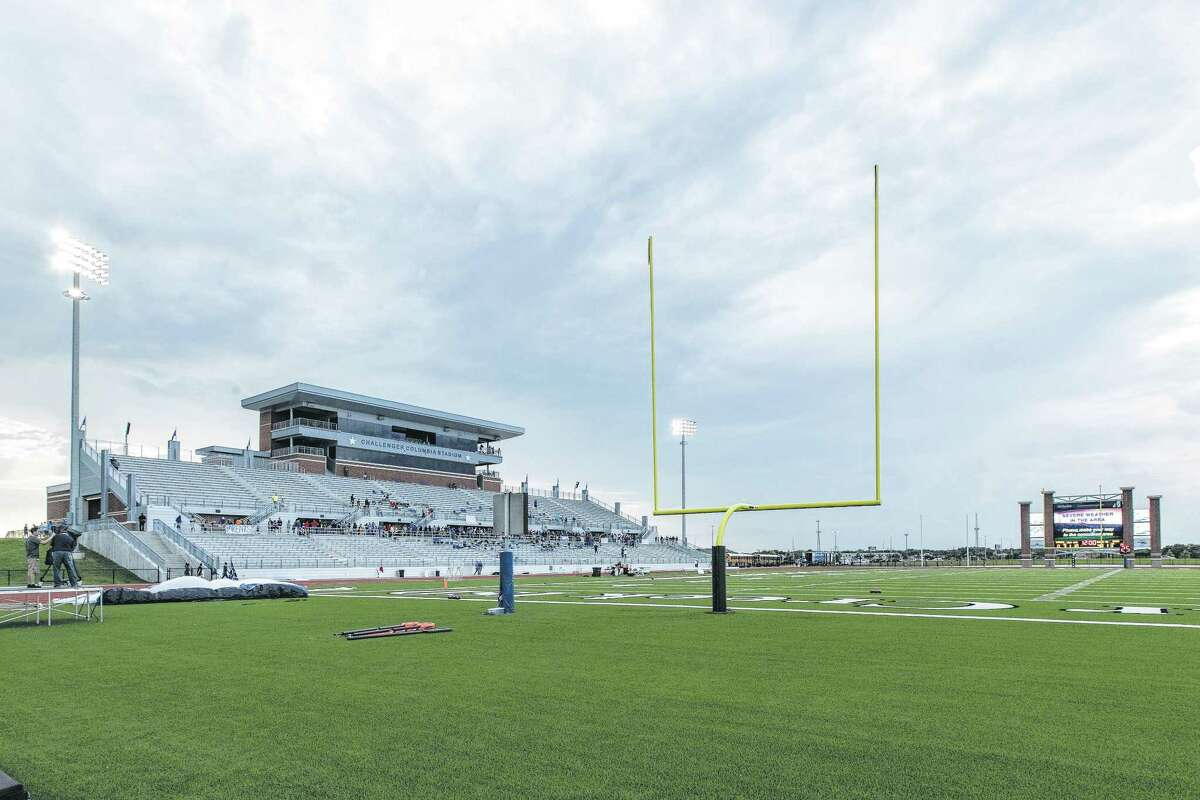 Clear Creek ISD's Challenger Columbia Stadium, which opened a year ago, helps to minimize Thursday night games.