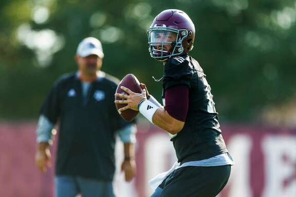 Texas A&M at least knows what veteran quarterback Jake Hubenak has to offer if he is anointed the starting quarterback against UCLA on Sept. 3.