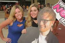 Fans outside the Ed Sheeran concert at the Toyota Center Saturday August 19, 2017.(Dave Rossman Photo)