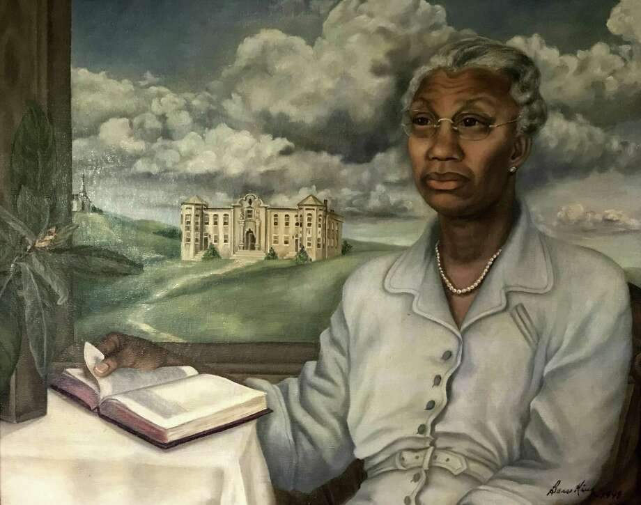 This portrait of Artemisia Bowden, a founder and president of St. Philip's College, was painted in 1948 by Bess King Pyle. A play about Bowden will be part of the East Side Tricentennial Celebration that starts at 5:30 p.m. Thursday and includes a prelude by the San Antonio Symphony, an art exhibit and more. Photo: Courtesy Ronald King