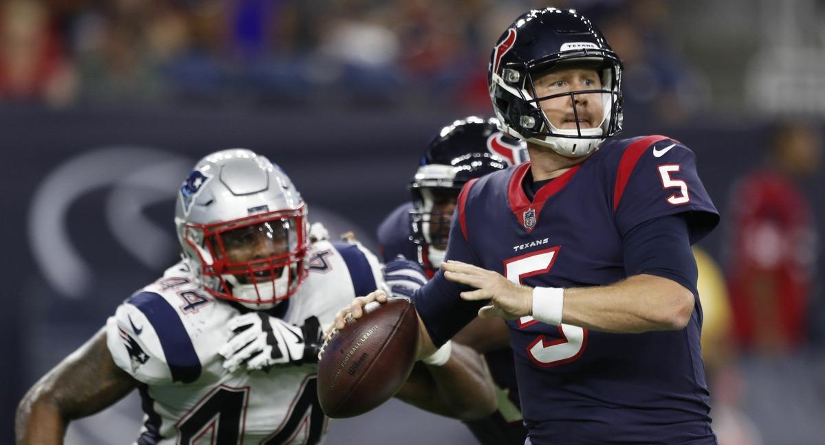 Texans bringing back Brandon Weeden as backup quarterback