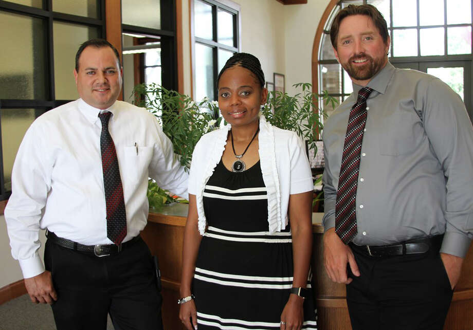 "COCISD looked to its own ranks to fill open administrative positions this year. Pictured from left to right are Transportation Director Charles ""Chuck"" Cotton, Coldspring Intermediate Assistant Principal Shalonda Washington and Coldspring-Oakhurst High School Assistant Principal Sean McCabe. Photo: Submitted"
