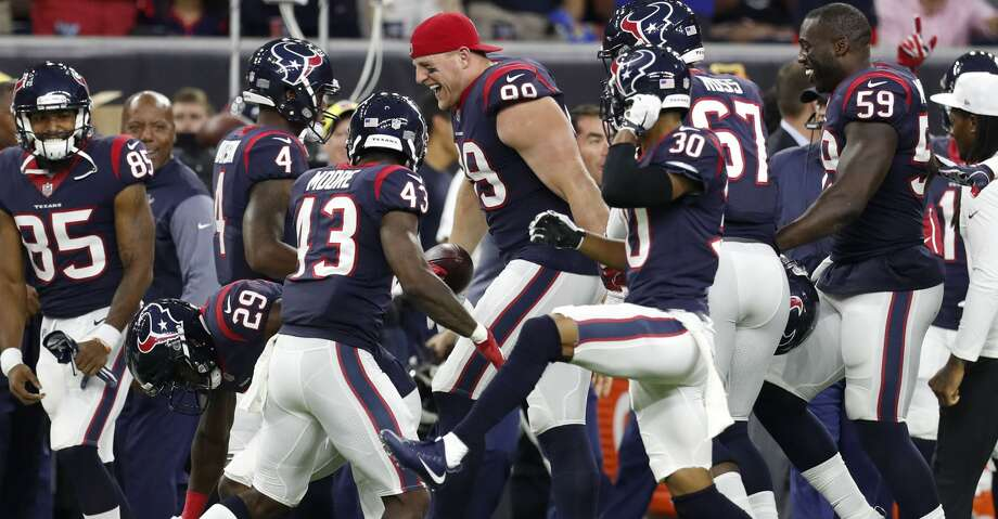 PHOTOS: Five up, five down from the Texans' preseason win over the PatriotsAaron Wilson tells us which five Texans players had their stock go up and which five Texans players had their stock go down after the team's preseason game Saturday.Browse through the photos above to see which Texans players helped themselves and which players hurt themselves. Photo: Brett Coomer/Houston Chronicle