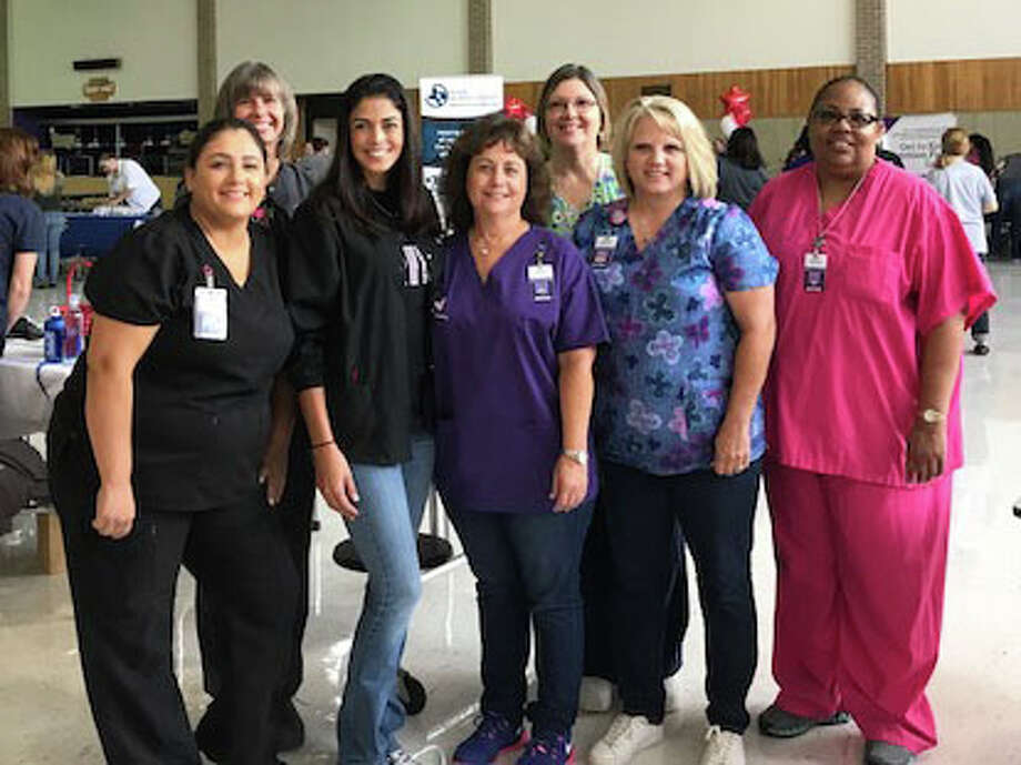 Dayton ISD held its first Staff Health & Wellness Fair Aug. 11. Several vendors from our Dayton area were present to show faculty and staff what they have to offer in the community. The district wishes to thank the sponsors and vendors for their participation, including Walmart Vision-Liberty, New Day Massage and Spa, All-Star Kids Dental, Burkes Dental, Cardinal Dental Group, Brookshire Brothers, Life Share Blood Centers, Houston Methodist, Texas A& Agrilife Extension Service, Vineyard, Sports Depot, and Dena Haberle's Exercise Class. According to the district, it was an amazing turnout and organizers are already looking forward to planning for next year. Photo: Submitted