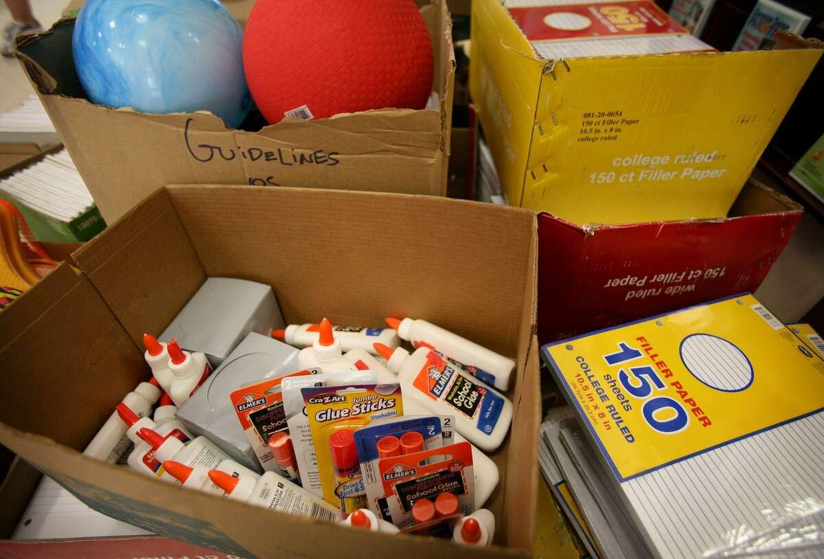 File photo of school supplies