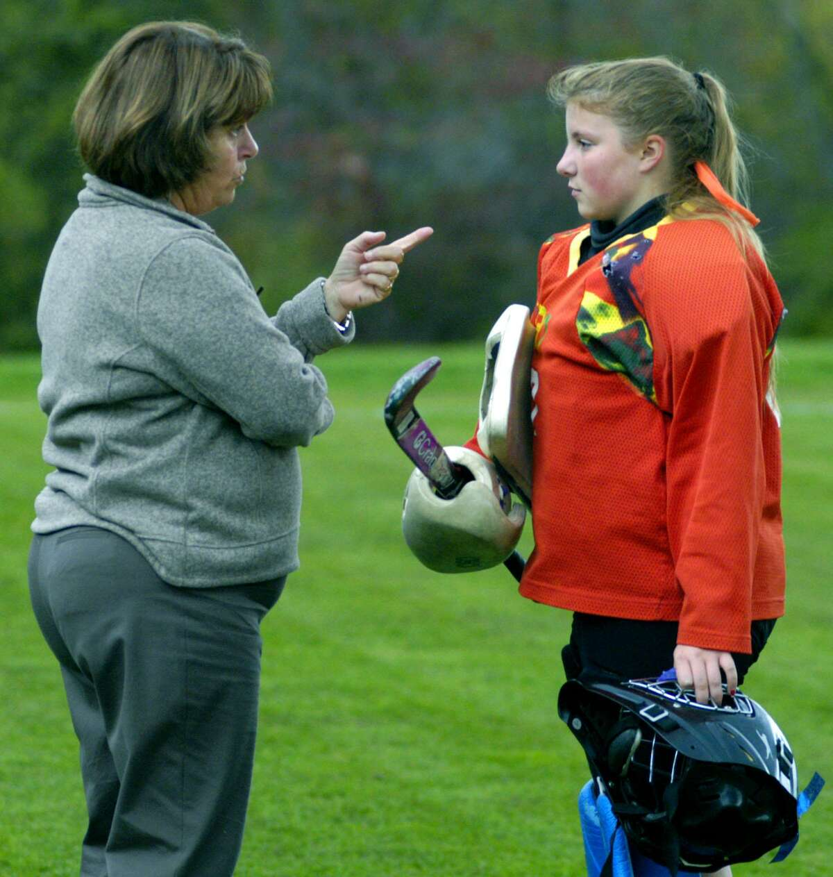 Shepaug High field hockey coach Jaye Stuart has been guiding the Spartans for 24 years. She will be inducted into the Connecticut High School Coaches Association Hall of Fame and the CT Field Hockey Coaches Association Hall of Fame this fall.