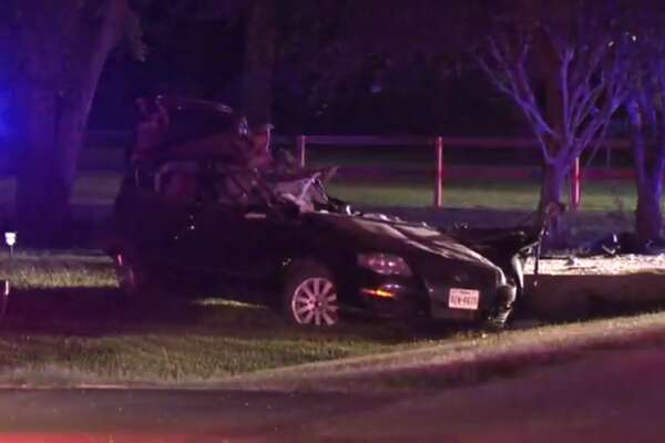 A teen is dead after a Cypress-area car crash Saturday night.