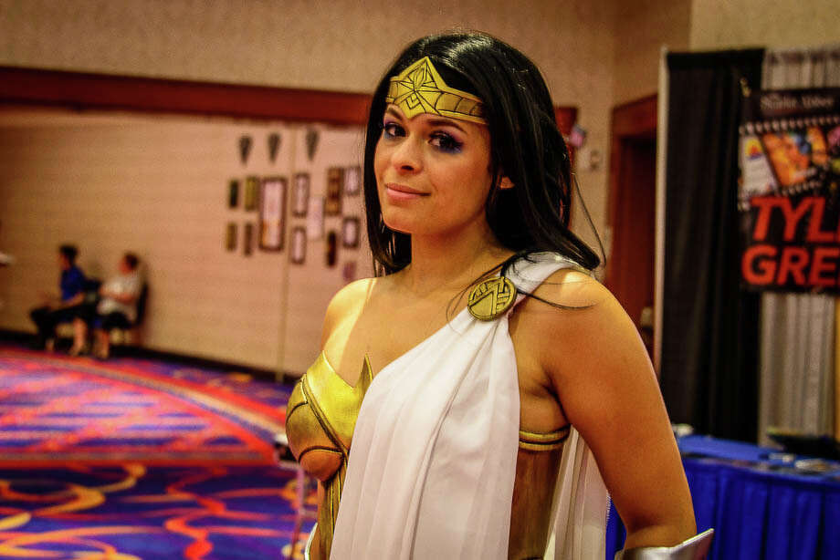 "Terrificon, Connecticut's ""Terrific Comic Con,"" was held at Mohegan Sun on August 18-20, 2017.  Comic book and super hero fans interacted with TV and movie stars,  listened to panels, dressed up in costumes took photos. Were you SEEN? Photo: Jon Edford / Hearst Connecticut Media Group;"