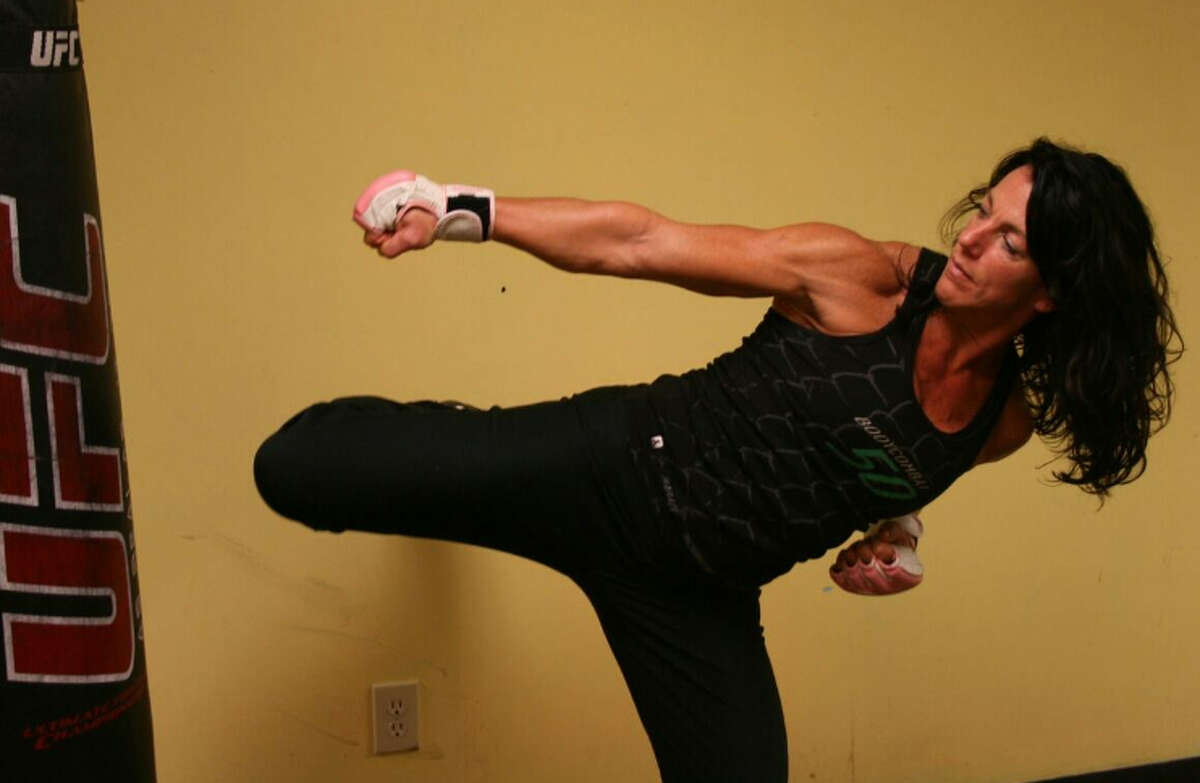 """We asked asked readers for top trainer recommendations on Kristi Gustafson Barlette's blog . Here are who you recommended: Arleen Larkin, Vent Fitness """"She is a force - always on, always pushing to get the best from you, always positive, inspirational and motivating ... and that's at 5:30 am. She expects nothing less than everything you've got and she gives the same of herself at the same time."""" - Erika Liguori"""