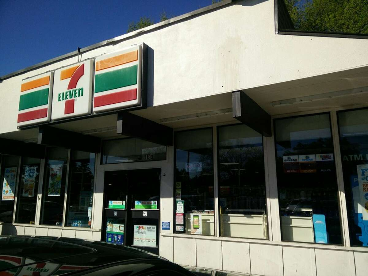 The 7-Eleven where the incident took place.