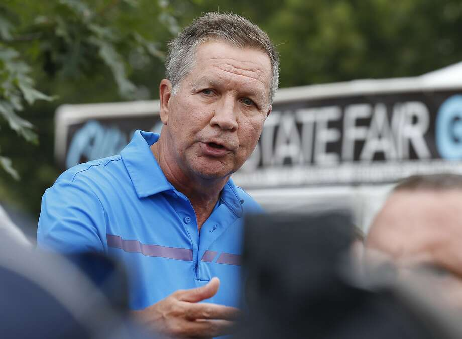 Ohio Gov. John Kasich, a Republican, is among those who believe the staff churn at the White House is hampering President Trump's ability to notch a major legislative victory. Photo: Jay LaPrete, Associated Press