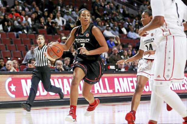 UConn freshman Megan Walker during the McDonald's All-American game in March.