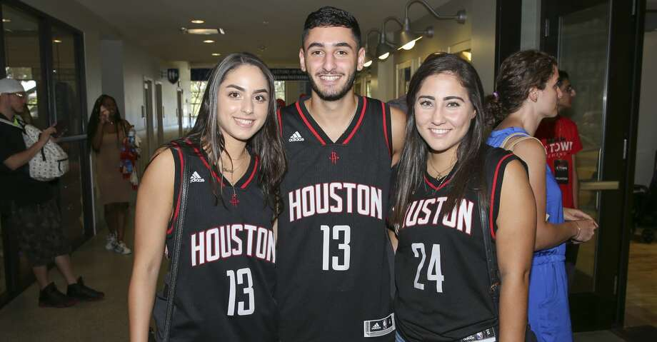 PHOTOS: James Harden's charity basketball tournamentPeople pose for a photo during James Harden charity basketball tournament at Rice University's Tudor Field House Sunday, Aug. 20, 2017, in Houston. ( Yi-Chin Lee / Houston Chronicle )Browse through the photos of attendees at James Harden's charity basketball tourney. Photo: Yi-Chin Lee/Houston Chronicle