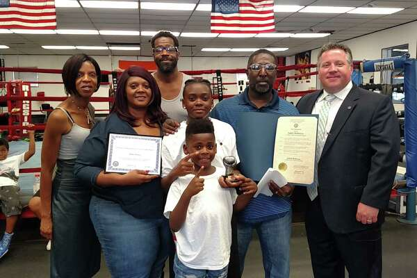 "Albany County Executive Daniel P. McCoy on Thursday recognized 11-year old girl ""who can truly go the distance."" Honored as Citizen of the Month was Jadah Robinson, the 2017 USA National Junior Olympic Champion. She serves as a role model and an inspiration to others, said McCoy."