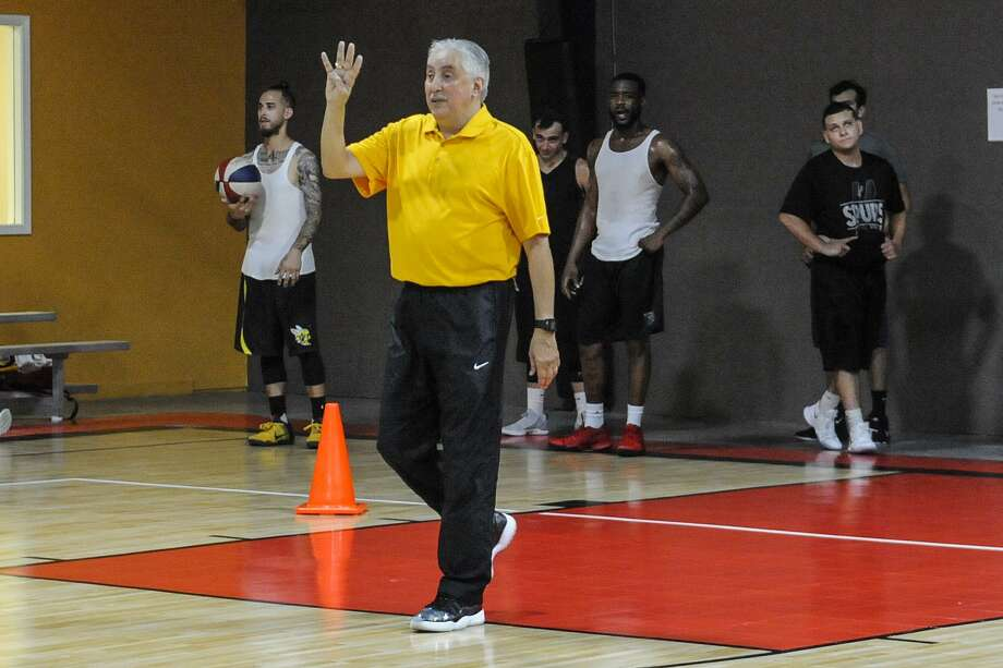 Swarm first-year head coach J. Caesar Cervantes won't be able to make his Laredo debut this season as the team will not participate in the 2017-18 ABA season. Photo: Danny Zaragoza / Laredo Morning Times File