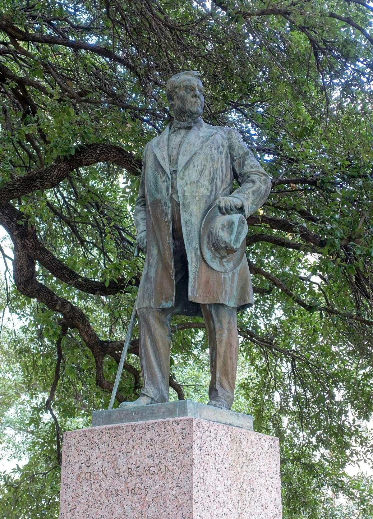 John H. Reagan by Pompeo Coppini - University of Texas at Austin, Austin, Texas, USA. Created circa 1923.