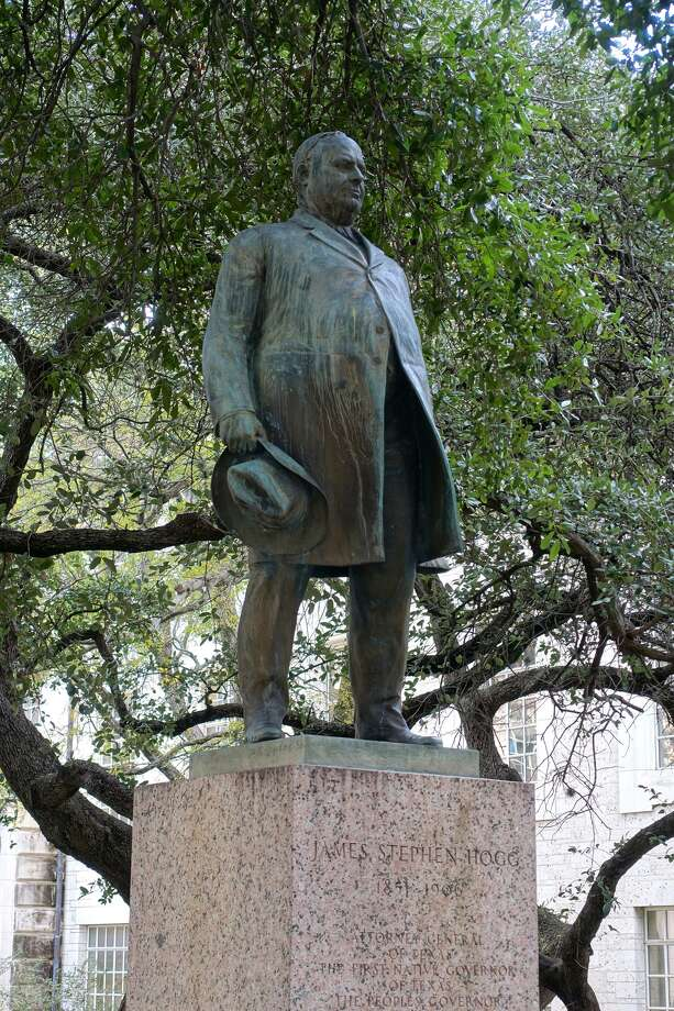 James Stephen Hogg by Pompeo Coppini - University of Texas at Austin, Austin, Texas, USA. Created circa 1923.