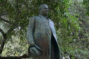 James Stephen Hogg by Pompeo Coppini - University of Texas at Austin, Austin, Texas, USA. Created circa 1923.