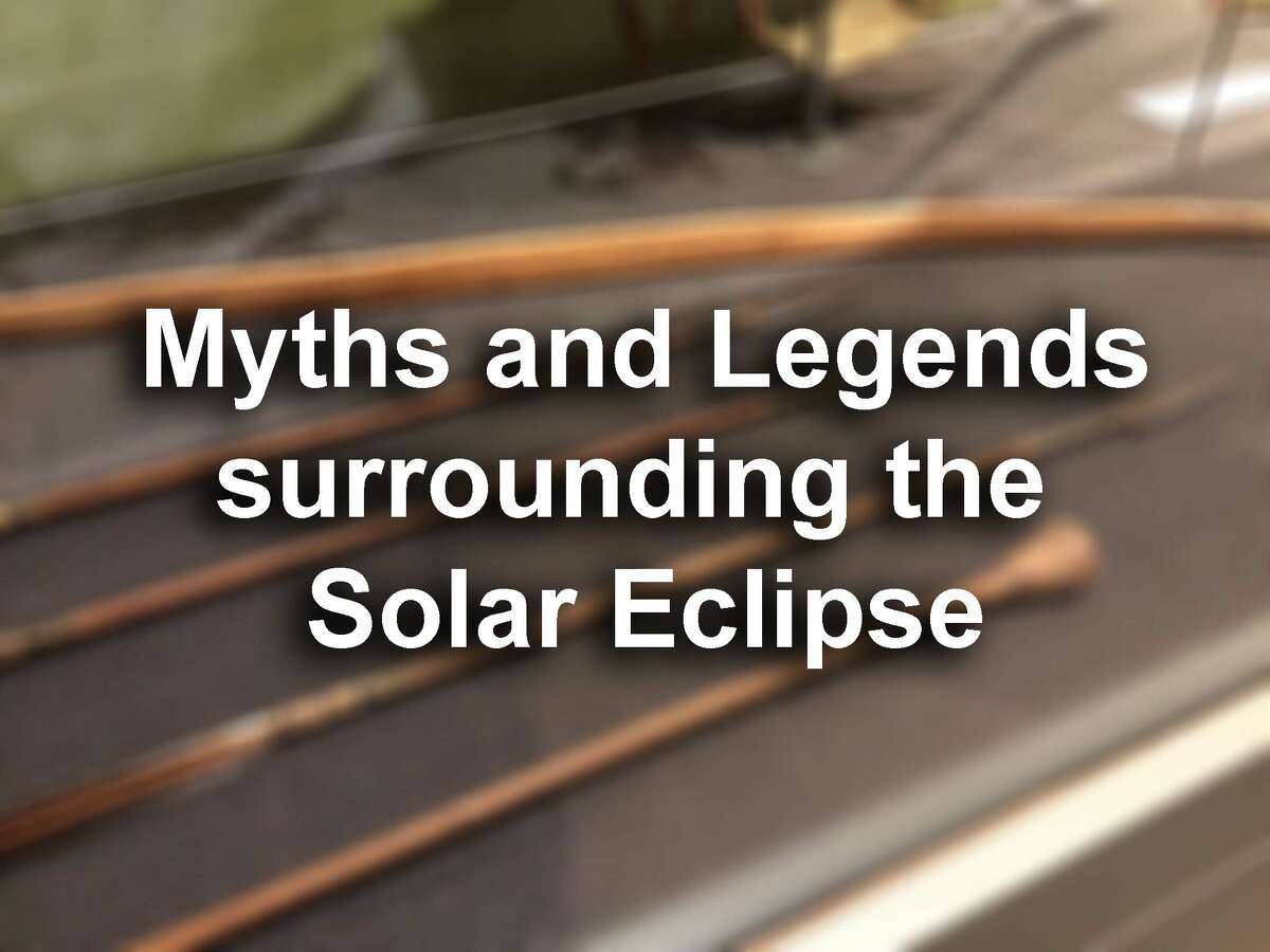 See some of the coolest myths and legends that surround the solar eclipse phenomenon...