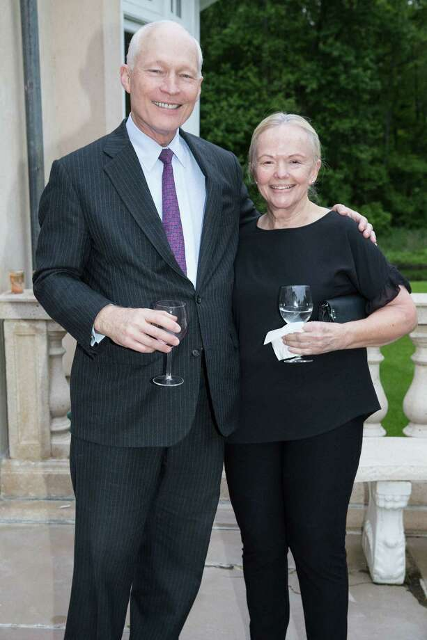 Abilis Community Foundation president Hal Ritch and his wife Linda Ritch at a recent celebration of Abilis Circle of Caring meeting its $1.5 million fundraising goal. Photo: Abilis