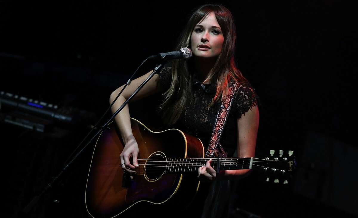 Kacey Musgraves performs at Perez Hilton's One Night In New York City at the Highline Ballroom on October 18, 2012 in New York City.