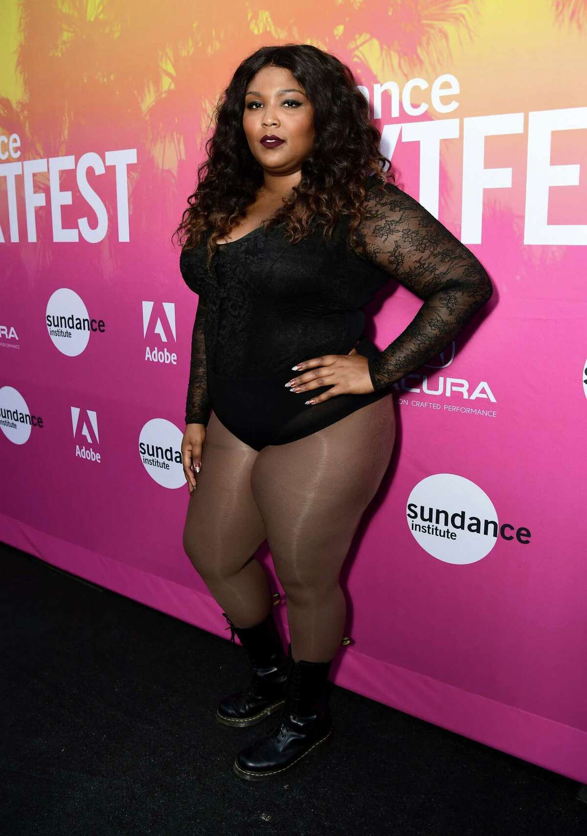 LOS ANGELES, CA - AUGUST 11: Lizzo attends 2017 Sundance NEXT FEST at The Theater at The Ace Hotel on August 11, 2017 in Los Angeles, California.