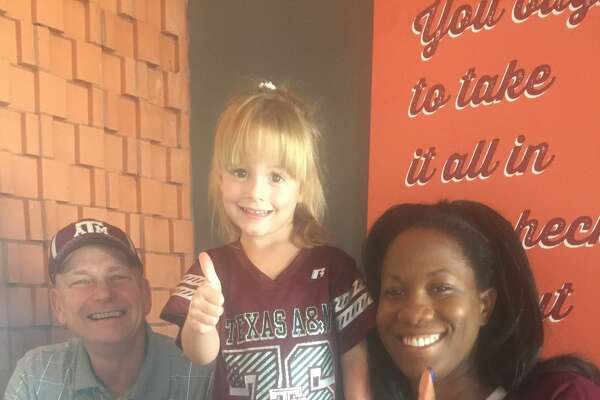 Aggies: Mike Reeves, from left, Charlotte Boaz and Ashlee Nelson