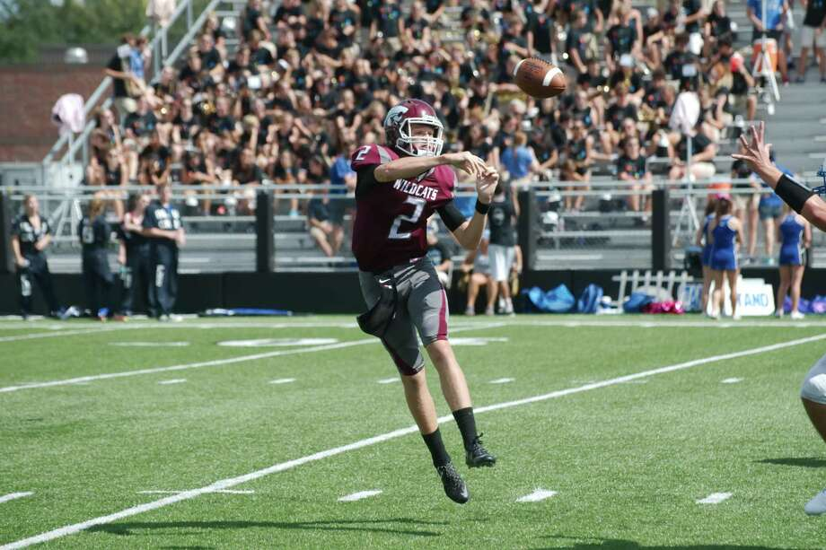 Clear Creek quarterback Sam Mathews hopes to guide the Wildcats to a return to the playoffs in 2017 after the Wildcats had a rare absence from the postseason in 2016. Photo: Kirk Sides / © 2016 Kirk Sides / Houston Community Newspapers