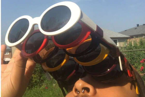 The internet is celebrating the eclipse with some hilariously bad photos and DIY eyewear.