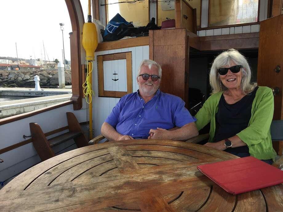 Eamonn and Catherine O'Nolan. Photo: Beth Spotswood