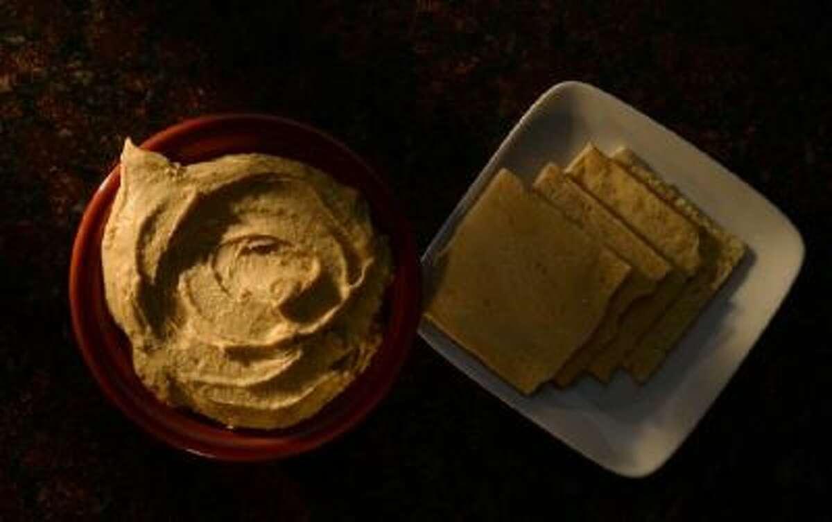 Hummus dip.