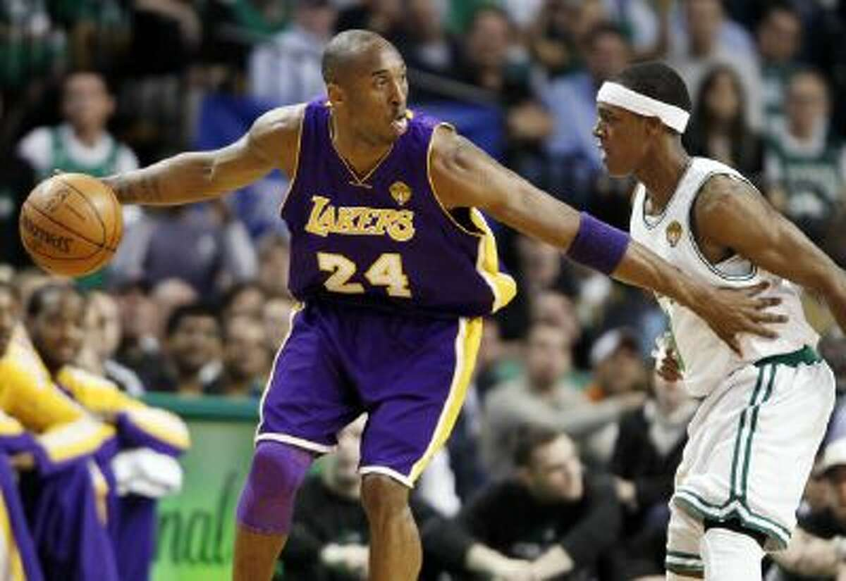 Kobe Bryant and Rajon Rondo are the last mainstays for the Lakers and Celtics as each team heads towards rebuilding mode.