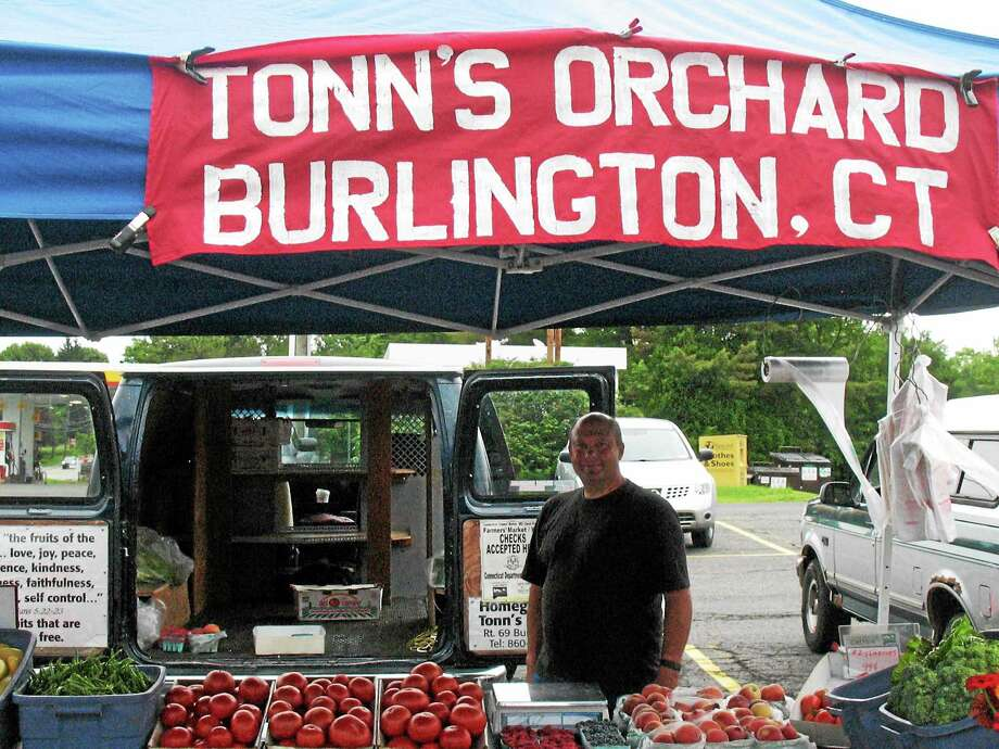 Tonn's Orchard started out as a hobby and keeps on growing. (Katelyn Peterson - Special to the Register Citizen) Photo: Journal Register Co.