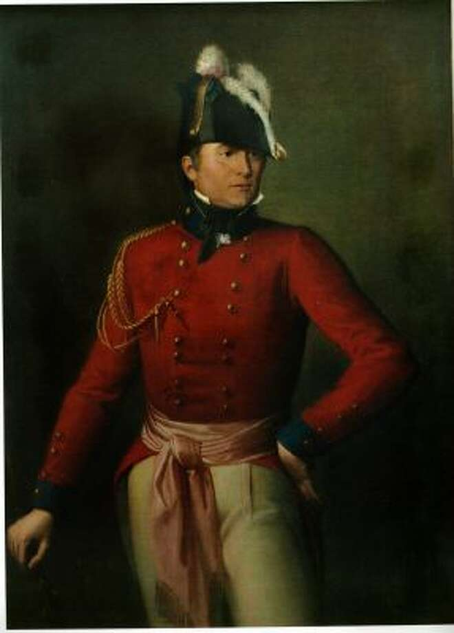 This 1815 oil portrait of Maj. Gen. Robert Ross hangs in the home of a descendant, Stephen Campbell of Rostrevor, Northern Ireland. Ross led the British force that burned Washington during the War of 1812.