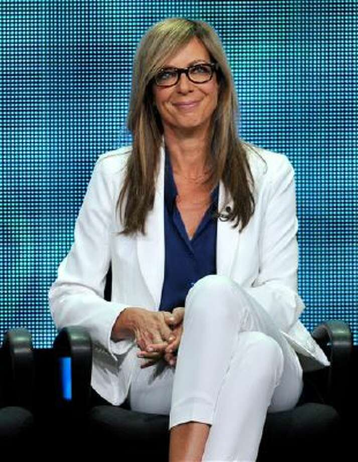 "In this July 29, 2013 file photo, cast member Allison Janney participates in the ""Mom"" panel at the CBS Summer TCA at the Beverly Hilton hotel in Beverly Hills, Calif. ""Mom,"" airs on Mondays on CBS. Photo: Chris Pizzello/Invision/AP / Invision"