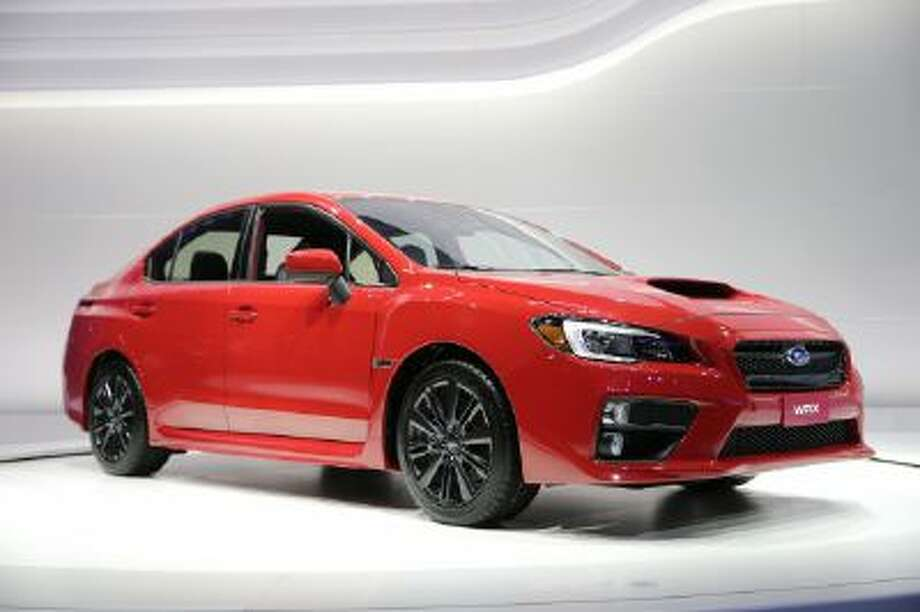 The new 2015 Subaru WRX is introduced at the Los Angeles Auto Show on Nov. 20 in Los Angeles.