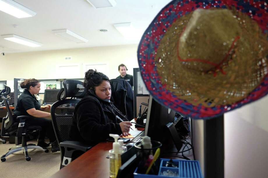 Cindy Hernandez works in the call center at Libre's Virginia headquarters. The company expects its clients to double by year's end.  MUST CREDIT: Photo for The Washington Post by Norm Shafer Photo: For The Washington Post / The Washington Post